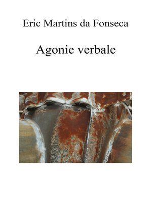 cover image of AGONIE VERBALE